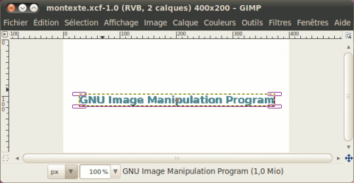 Apprenez Crer Avec GIMP 26